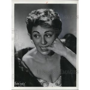 1951 Press Photo Actress Lillian Roth