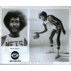 Undated Press Photo Rich Jones of the New York Nets