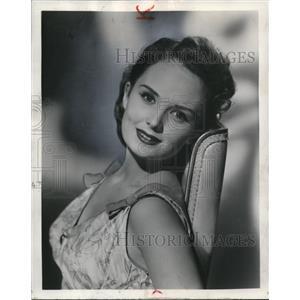 1955 Press Photo Olive Sturgess