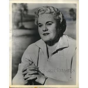 1959 Press Photo Actress Rita Shaw