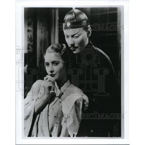 1933 Press Photo Barbara Stanwyck in The Bitter Tea of General Yen