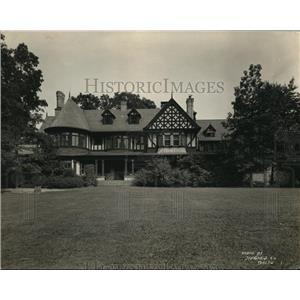 1919 Press Photo Home of Mrs T. Harrsonof Baltimore leased by government for $1