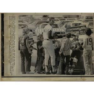 1975 Press Photo New York Mets Dave Kingman