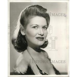 1944 Press Photo Eleanor Sheridan