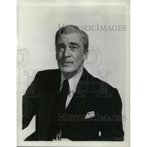 1954 Press Photo Walter Pidgeon