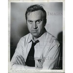 1958 Press Photo Howard De Silva