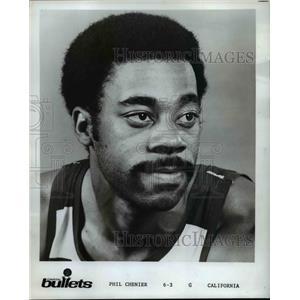1975 Press Photo Phil Chenier of the Capital Bullets