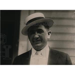 1919 Press Photo John B. Nilso, Race Horse Owner of Florida