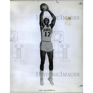 1968 Press Photo Joe Caldwell, Atlanta Hawks Baseball Player