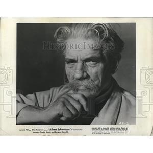 1957 Press Photo Dr. Albert Schiveitzer
