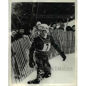 1969 Press Photo Joe Jay Jalbert in Downhill Racer