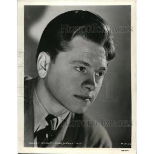 1942 Press Photo Mickey Rooney