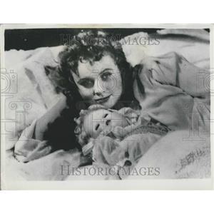 1954 Press Photo Actress Anna Lorionova