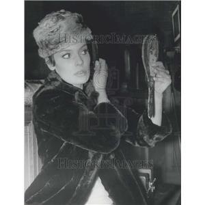 "1967 Press Photo Danielle Gaubert Makes Screen Comeback ""Le Grand Dadais"""
