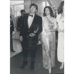 Press Photo Film Actor Albert Finney with Diane Quick in Cannes