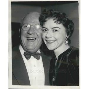 1954 Press Photo Miss Dorthy Tutin & Mr Jack Hylton - KSB08383