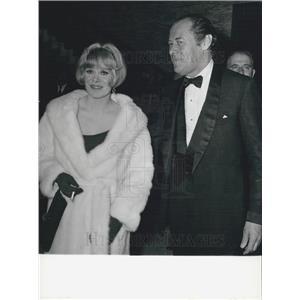 1965 Press Photo Actor Rex Harrison, Rachel Roberts