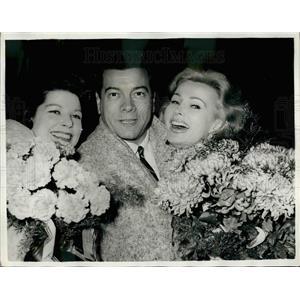 1958 Press Photo Mario Lanza and Zsa Zsa Gabor - KSB29481