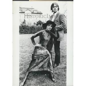 1970 Press Photo actress Gila von Weitershausen & hubby Martin Luttge
