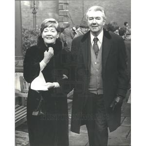 1976 Press Photo Sir Michael Redgrave, Lady Redgrave