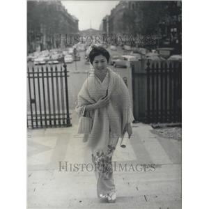 1960 Press Photo  Japan Star actress  Yoshiko Sano