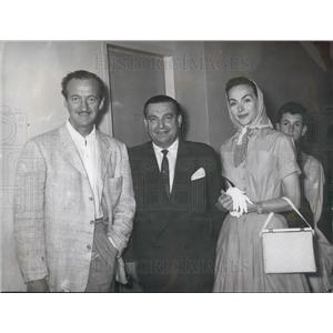 1958 Press Photo David Niven Vacations In Istanbul - KSB03703