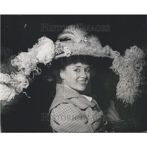 1968 Press Photo Actress/dancer Pauline Cooper