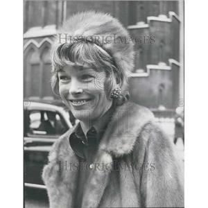 1972 Press Photo Actress Dawn Addams Loses Court Battle