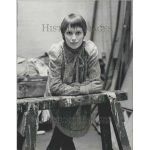 1972 Press Photo Mia Farrow Terrified Of Stage Debut