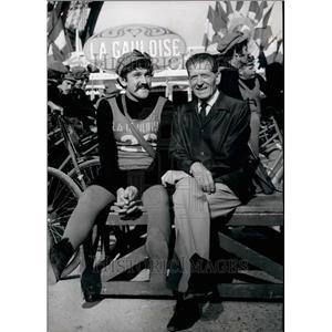 1967 Press Photo Actor Albert Prejean - KSB37133