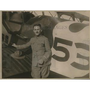 1923 Press Photo Cadet A.J. Nassamer of Le Pere # 53. - nem23518
