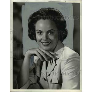 1960 Press Photo Joanne Jordan American TV Actress - orp16414