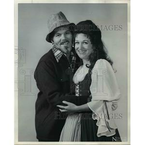 "1979 Press Photo Richard Hurst and Patsy Maxson in ""Brigadoon"" - orp16267"