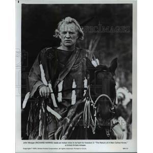 1976 Press Photo Richard harris The Return Of A Man Called Horse - orp16556