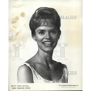 1967 Press Photo Betty Ann McCall Actress - orp18390