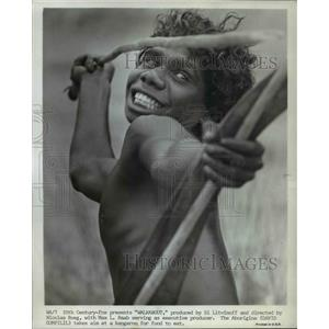 "1971 Press Photo David Gumpilil in ""Walkabout"" - orp16489"