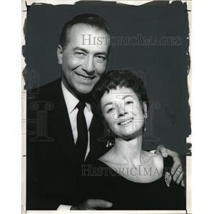 1965 Press Photo Jeffrey Lynn and Mary Marsh star in Mary Mary - orp18006