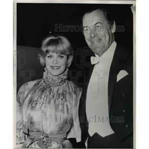 1965 Press Photo Rex Harrison and Julie Andrews at 37th Academy Awards Ceremony