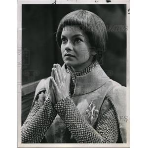 1967 Press Photo Genevieve Bujold stars in Saint Joan - orp18459
