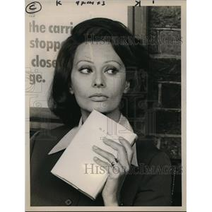 "1974 Press Photo Sophia Loren in ""Brief Encounter"" - orp17759"
