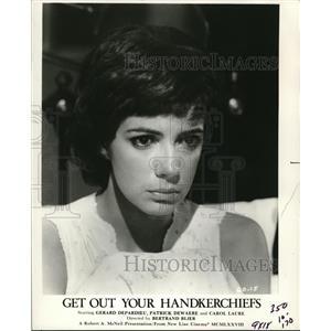 1979 Press Photo Get Out Your Hankerchiefs Carol Laure - orp18060