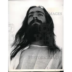 1972 Press Photo Ron Greenblatt The Crucifixion Of Jesus - orp17567