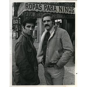 1973 Press Photo Hal Linden Tony LoBianco Mr Inside Mr Outside - orp17926