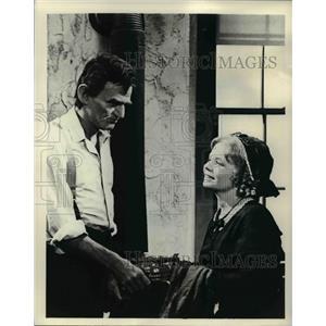 1975 Press Photo Hal Holbrok stars as Abraham Lincoln in Prairie Lawyer