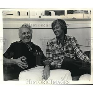 "1974 Press Photo Allan Jones on ""Jack Jones Special"" - orp16681"