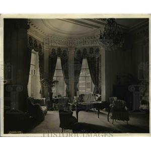 1919 Press Photo Interior view of new British Embassy at Wash DC