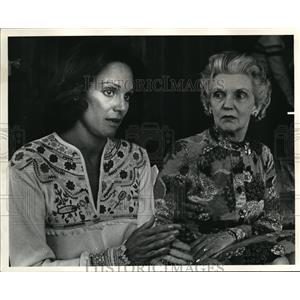1977 Press Photo Valerie Harper actress and her mother Iva Harper in Idaho