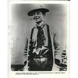 1978 Press Photo Douglas McArthur Author - orp17971