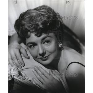 1962 Press Photo Peggy McCay Actress - orp18388