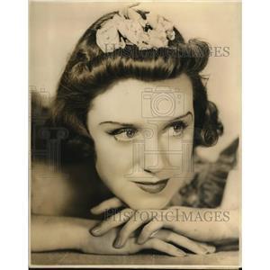 1938 Press Photo Marjorie Lynn-Smith stars in Death Valley Days - orp18435